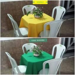 \ Mesas , cadeiras e toalhas para eventos / 99212-
