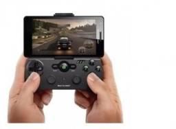 Controle Sem Fio Multilaser para Jogos de Smartphone Transmissão Bluetooth - JS076