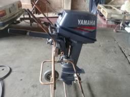 Motor Yamaha 8HP Semi novo - 2000