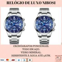 64de7d3e7f1 Relógio de luxo Nibosi. Novo