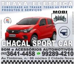 Trava-elétrica para carro Mobi (produtos novos e com nota fiscal)