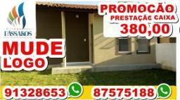 Passo casa no Village dos Pássaros 3 - Valor 35 mil -prestação 380- What's 91328653