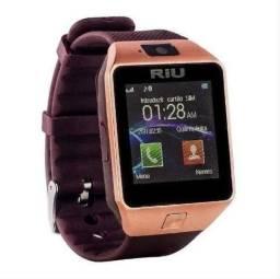Smartwatch Riu Pega Chip e Cartão de Memória