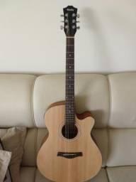Vende-se violão semi-novo