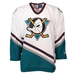 Camiseta Super Patos Hockey Anaheim Ducks CCM Classic Anniversary Throwback Jersey