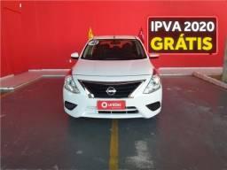 Nissan Versa 1.6 16v flexstart sv 4p xtronic - 2018