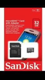 Cartão de Memória SanDisk 32GB Original