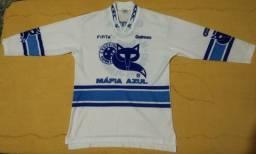 Camisa Máfia Azul Cru-Fiel