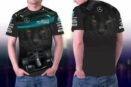 Camisa F1 Mercedes Personalizada