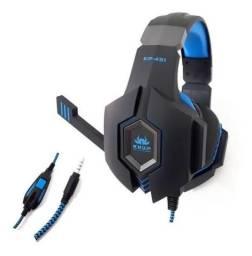 Título do anúncio: Headset Gamer Knup Kp-451 Fone Celular Xbox One Ps4 P2