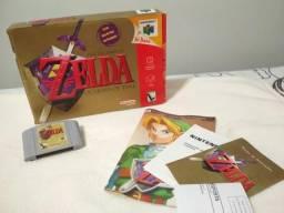 Zelda Ocarina of Time (N64), usado comprar usado  São Gonçalo