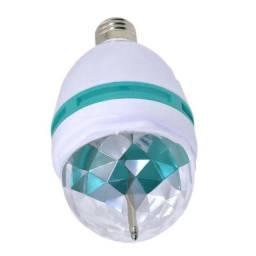 Lâmpada Giratória de LED para Festa Mini Party Light Bola Maluca