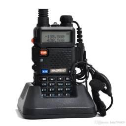 Rádio Ht Dual Band Uhf + Vhf Baofeng Uv-5r Rádio Ht Portátil, usado comprar usado  Campo Grande