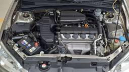 HONDA CIVIC LX 1.7 03/04 MEC. 25.000KM