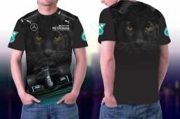 Camisa F1 Hamilton Personalizada Pantera
