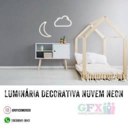 Título do anúncio: Luminária decorativa nuvem neon - produto top
