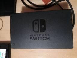 Nintendo Switch Destravado Sxos pro poquissimo usado com 20 jogos + vários itens