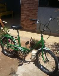Caloi berlineta antiga aro 20 bicicleta troco por ps4