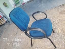 Cadeiras escritório usadas