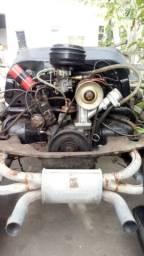 Chassis do fusca 78 branco