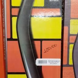 Calha de chuva TG Poli para Fiesta Hatch 96/03. Courier 97/13 2 portas