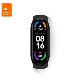 Título do anúncio: Pulseira MiBand 6 Inteligente Relógio Smartband Xiaomi Original
