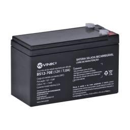 Título do anúncio: Bateria Selada 12V 7A Vlca Para Segurança BS12-70E