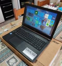 Notebook Acer --- 10 Meses De Uso --- Na Cor Black Escovado