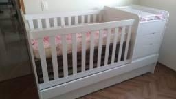 Título do anúncio: Berço 3 em 1 - Multifuncional Carolina Baby 8 meses de uso