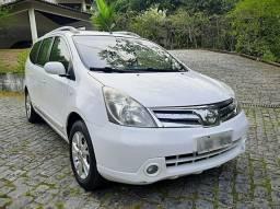 Nissan Grand Livina SL 2013 automática 7 unico dono