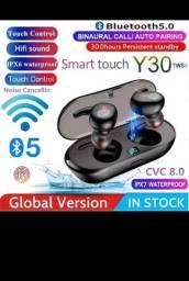 Título do anúncio: Fone de ouvido smart touch Y30