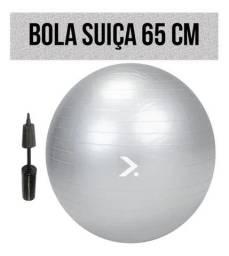 Bola Suiça Pilates Fitness Academia em Casa. 65 Cm. Loja em Goiânia - Goiás