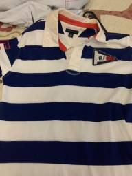 camisa marca tommy, 12-14 anos