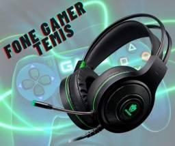 Headset Têmis leva muito conforto independente do tempo que você vai passar no game.