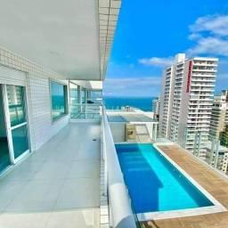 Título do anúncio: Cobertura Duplex Canto do Forte 4 dormitórios 283 metros com Piscina Vista Mar