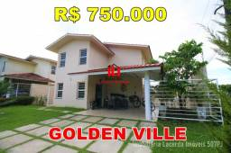 Título do anúncio: Casa No Golden Ville Com 4 quartos sendo 1 suíte