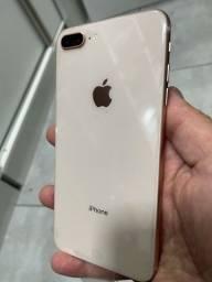 Título do anúncio: IPhone 8 plus 64gb gold de Vitrini sem detalhe em 10x sem juros