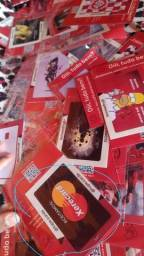 Título do anúncio: Adesivos de proteção para cartões