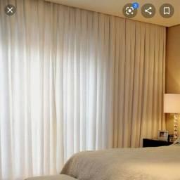 Promoção de cortinas e persianas.