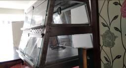 Estufa para salgados com dois andares