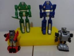 Lote Carrinho Robô Transformers da Estrela Anos 80 - Coleção Raros