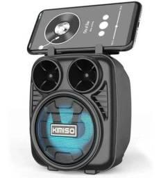 Título do anúncio: Caixinha De Som Portátil Bluetooth FM MP3 Cartao SD Pendrive