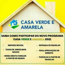 \|\| Cadastre-se ->CASA VERDE & AMARELA| Sair do Aluguel Ñ é Sonho. É Conquista!!