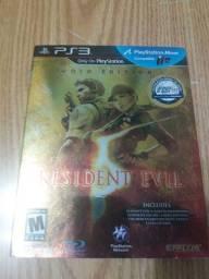 Resident Evil 5 PS3 Gold Edition com luva