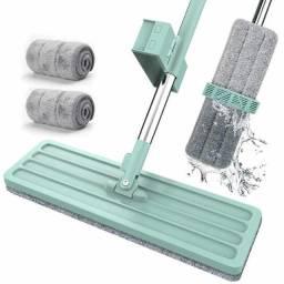 Rodo Mop Rodo Flat 360 Para Pisos Limpeza + Refil