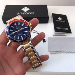 Título do anúncio: Relógio de luxo WWOOR