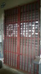Portão Reforçado para porta de enrolar medindo 2,70 x 1,70, proteja o seu patrimônio