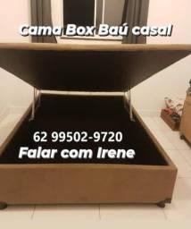Título do anúncio: Box Baú Casal Inteiro  _ Direto da Fábrica - @@@@@@@@@@@@@@@@@@@