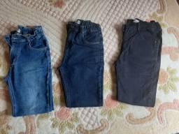 Calça Jeans infantil masculino tamanho 14