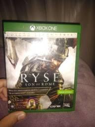 Jogo ryse Xbox one com manual e encartes originais